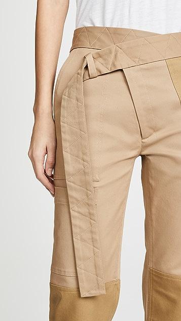 Monse Прямые брюки-карго