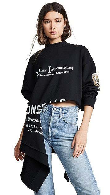 Monse Monse International Rip Sweatshirt