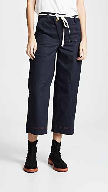 Monse Wide Leg Cargo Pants