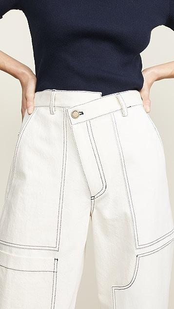 Monse Wide Leg Pants