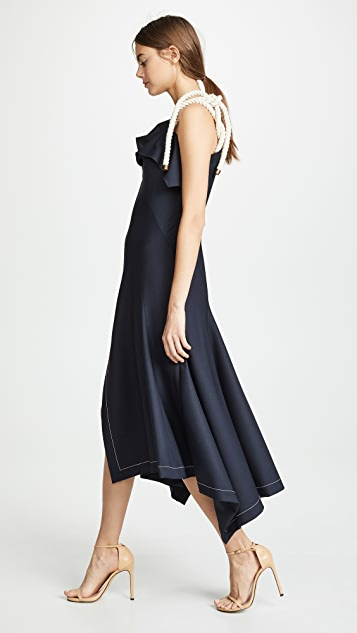 Monse Dresses Flap Shoulder Dress