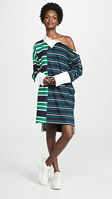 Monse Dresses Striped Rugby Dress