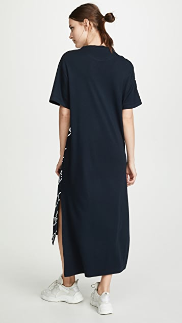Monse Chain Print T-Shirt Dress
