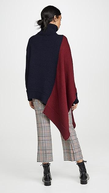 Monse Extended Bi Color Knit