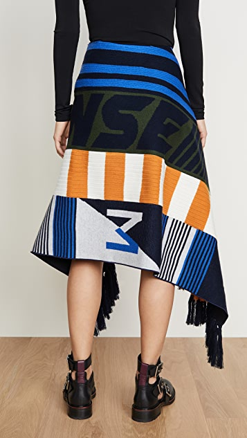 Monse Scarf Skirt
