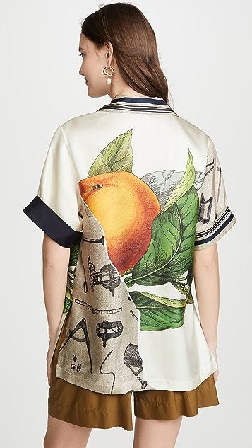 Monse Grove And Toolbox Havana 衬衫
