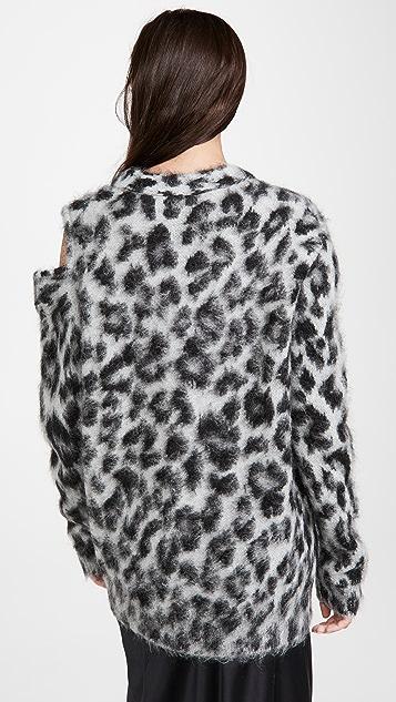 Monse Cheetah Cardigan