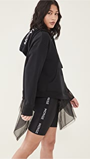 Monse Deconstructed Tulle Hoodie