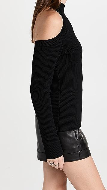 Monse V Open Back Sweater