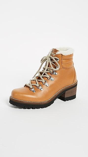 Montelliana Ninfea Heeled Hiker Boots