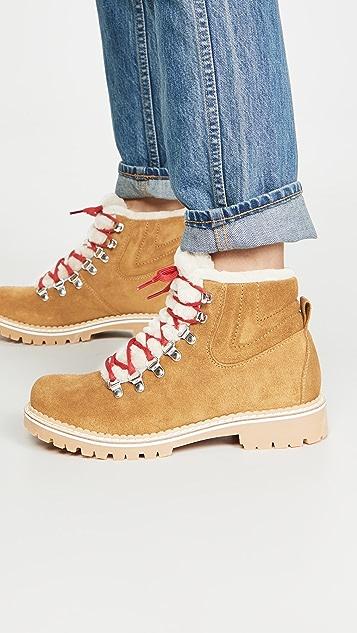 Montelliana Camelia Shearling Lining Boots