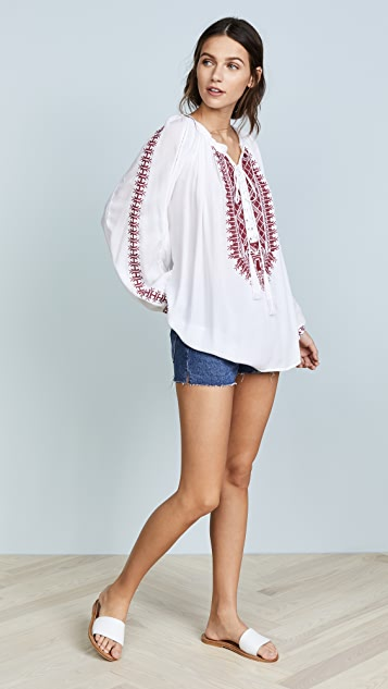 Melissa Odabash Simona Cover Up Top