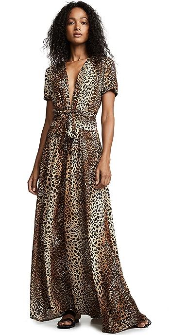 Melissa Odabash Lou Dress - Cheetah