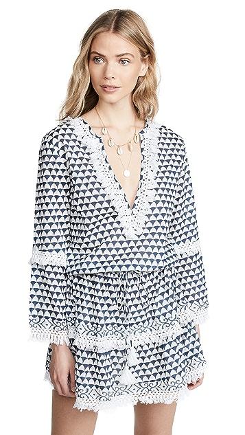 Melissa Odabash Приталенное платье с прямой юбкой
