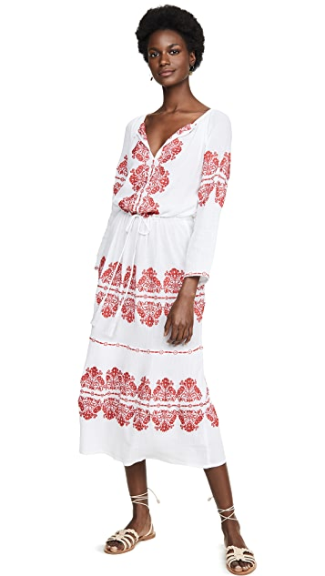 Melissa Odabash Lela 罩衫连衣裙