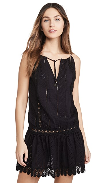 Melissa Odabash 切尔西罩衫连衣裙