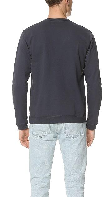 Mollusk Olde Whale Crew Sweatshirt