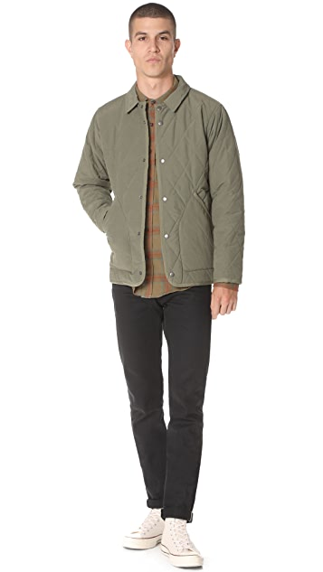 Mollusk Quilted Barn Jacket East Dane