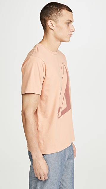 Mollusk Short Sleeve Shadow Print Tee