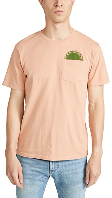 Mollusk Short Sleeve Country Sun Pocket Tee