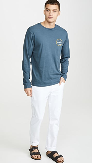 Mollusk Harvest Moon Long Sleeve Tee Shirt