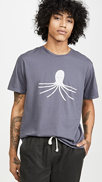 Mollusk Octopus Short Sleeve Tee