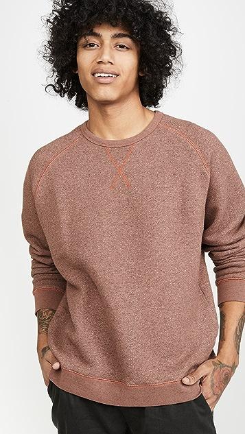 Mollusk Heavy Terry Crew Neck Sweatshirt