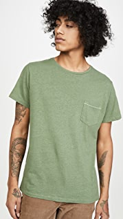 Mollusk Hemp Short Sleeve Pocket Tee