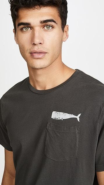 Mollusk Olde Whale Short Sleeve Tee