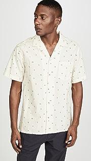 Mollusk Aloha Cactus Garden Short Sleeve Shirt