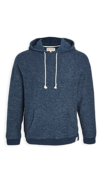 Mollusk Whale Patch Pullover Hoodie