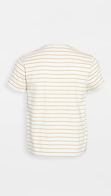 Mollusk Stripe Pocket Tee Shirt