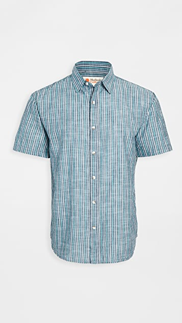Mollusk Summer Short Sleeve Shirt