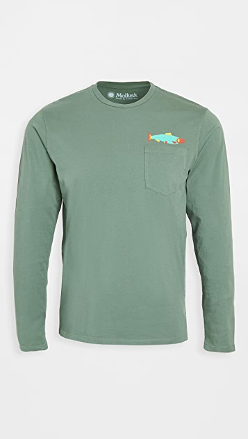 Mollusk Hot Salmon Long Sleeve T-Shirt