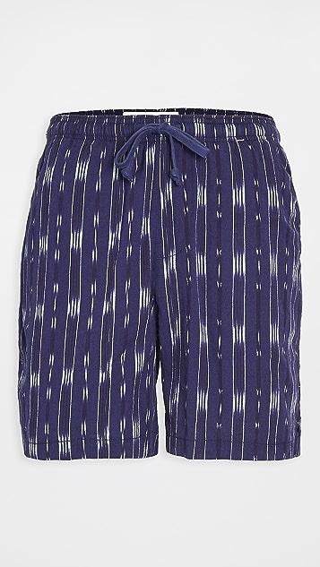 Mollusk Ikat Summer Shorts