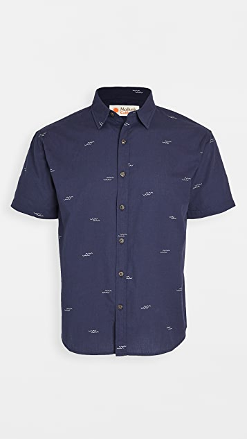 Mollusk Short Sleeve Summer Shirt