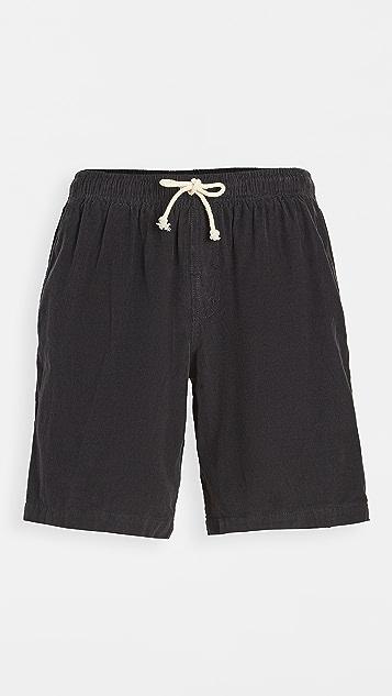Mollusk Corduroy Shorts