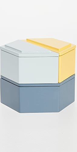 MoMA - Honeycomb Stacking Jewelry Boxes