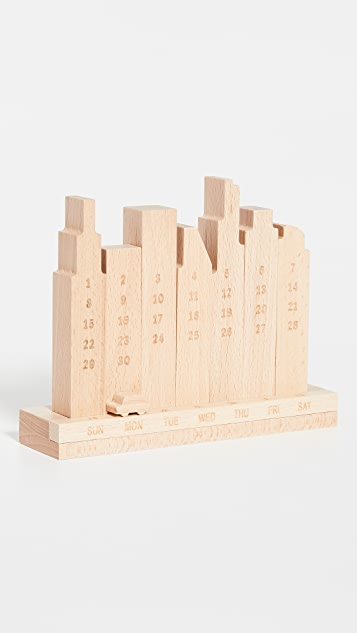 MoMA City Perpetual Calendar