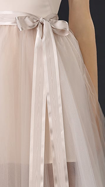 Monique Lhuillier Ballerina Cocktail Dress