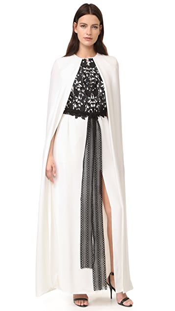 Monique Lhuillier Column Gown