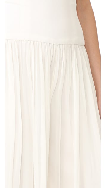 Monique Lhuillier High Waisted Palazzo Pants