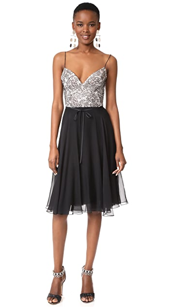 Monique Lhuillier Camisole Dress