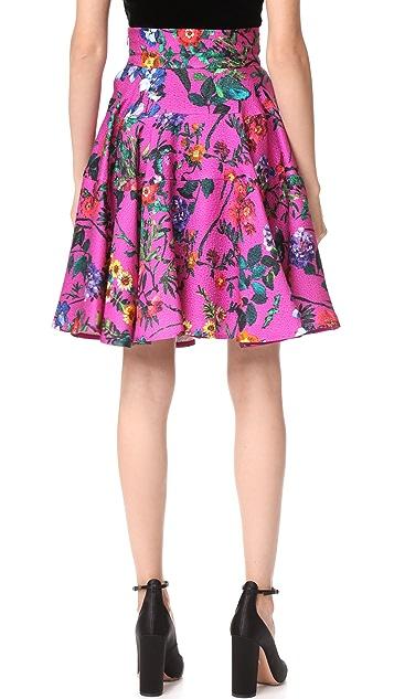 Monique Lhuillier Flared Skirt