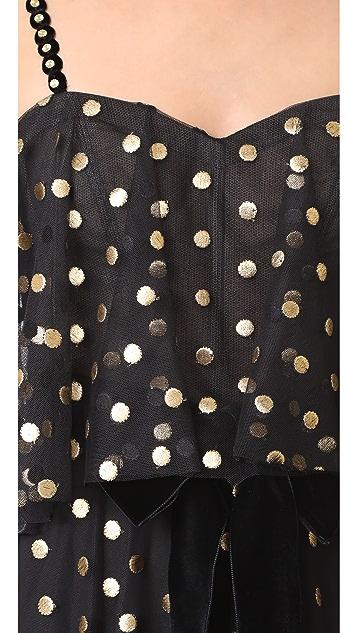 Monique Lhuillier Camisole Gown