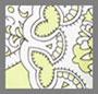 Chartreuse Paisley