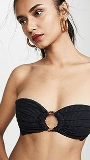 Montce Tori Bandeau Bikini Top