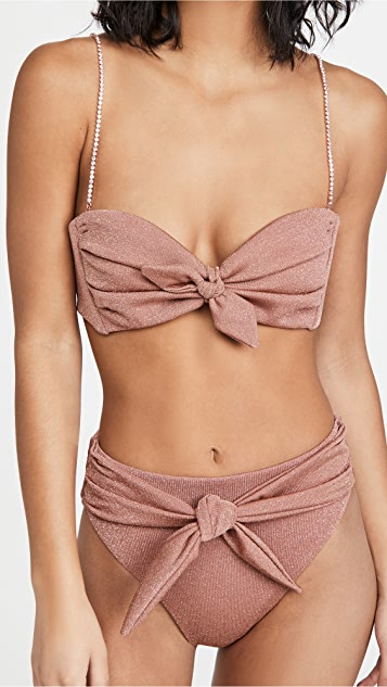Montce Cabana Bikini Top with Straps