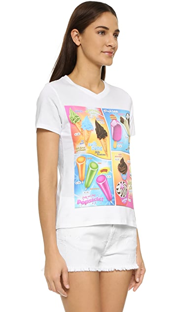 Moschino Printed Cover Up Tee