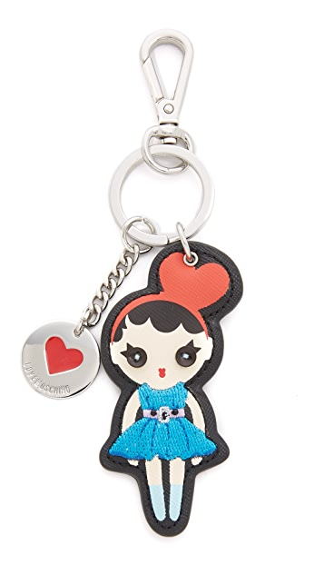Moschino Love Moschino Key Chain